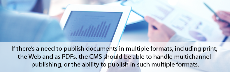 Publishing Documents In Multiple Formats