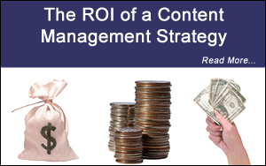 roi of a content management strategy